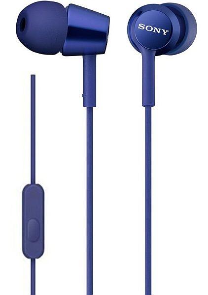 Sony MDR-EX155AP modré