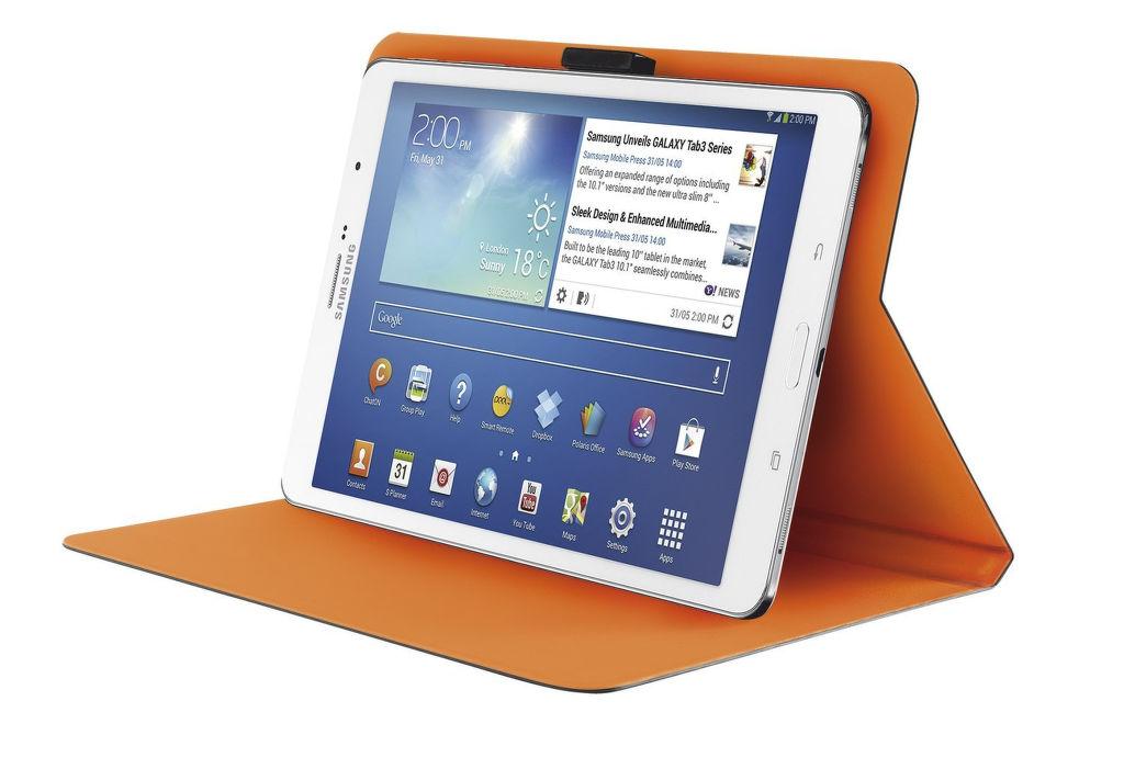 Trust Aeroo Ultrathin Folio Stand pro 7-8 palcové tablety (šedé)