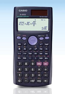 Casio FX 85 ES Plus, školní desetimístná kalkulačka