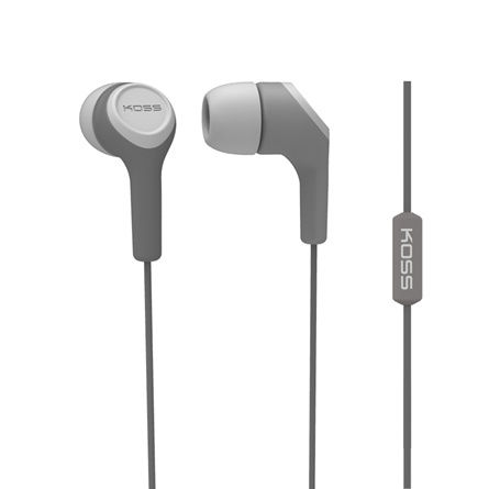 Koss KEB15i (šedá) - sluchátka do uší