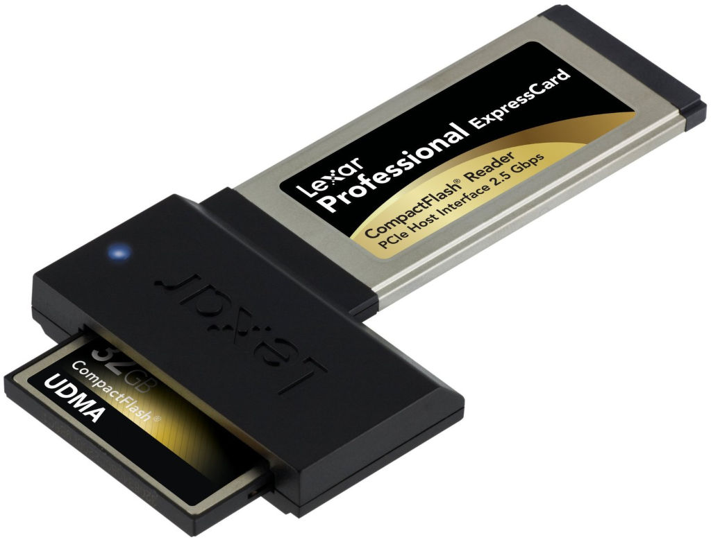 Lexar Professional Express - čtečka karet CompactFlash