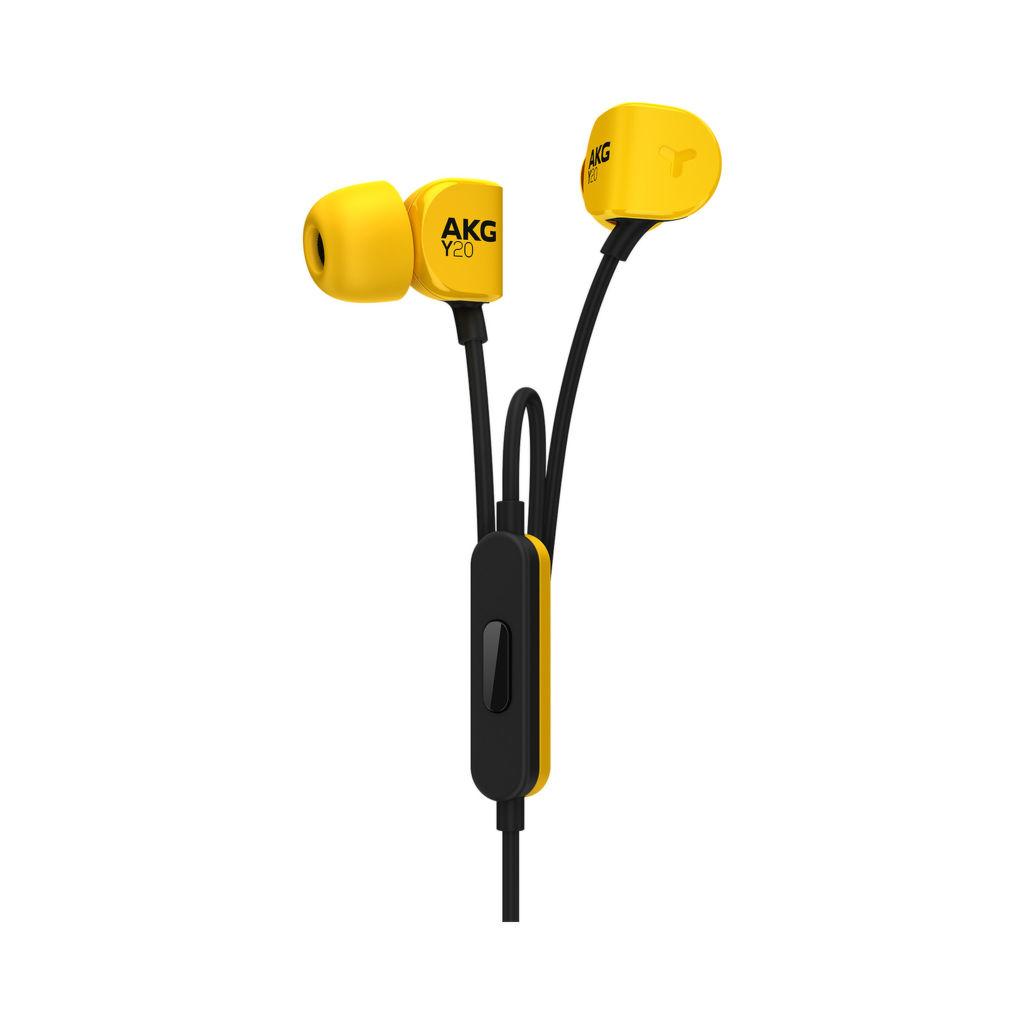 AKG Y20U (žluto-černá)
