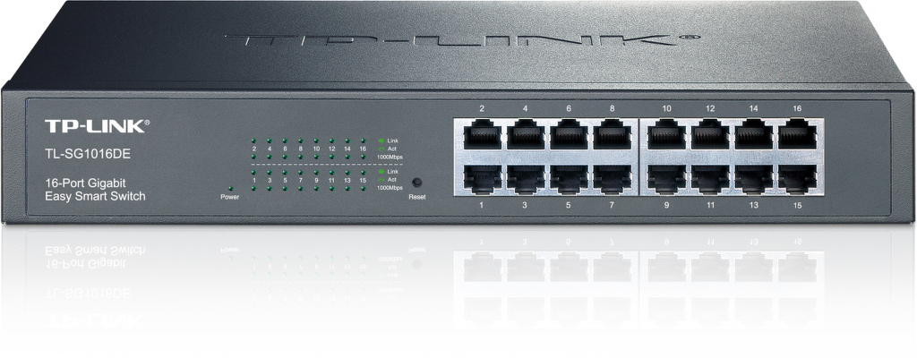 TP-LINK TL-SG1016DE 16-Port Gbit Switch
