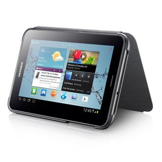SAMSUNG polohovací pouzdro EFC-1G5SGE pro Samsung Galaxy Tab 2, 7.0 (P3100 / P3110), Dark Grey
