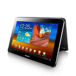 SAMSUNG pouzdro Book Cover pro Galaxy TAB 8.9 (P7300 / P7310), černý
