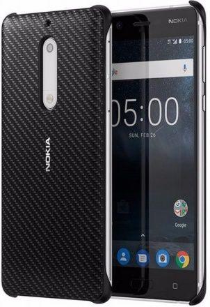Nokia Carbon Fibre Design pouzdro pro Nokia 5 černé