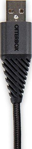 Otterbox microUSB kabel 2m, černý