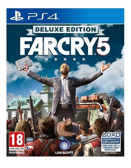 Far Cry 5 Deluxe Edition - PS4 + dárek UBISOFT FC5 hrnek, Far Cry 5 hrnek Preor zdarma
