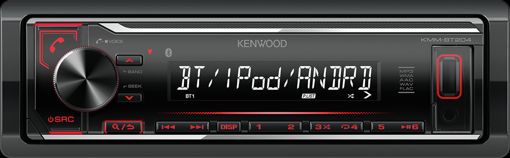 Kenwood KMM-BT204
