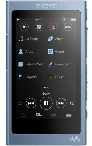 Sony NW-A45L 16GB modrý