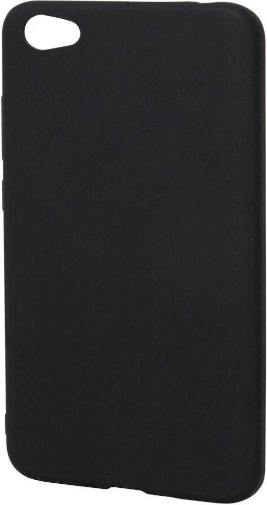 Epico Silk Matt pouzdro pro Xiaomi Redmi Note 5A, černá