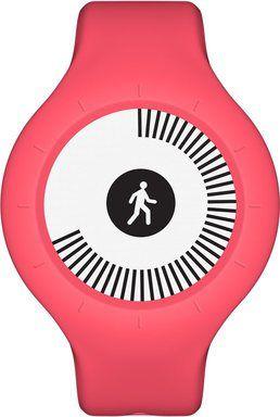 Nokia Go fitness náramek, červený