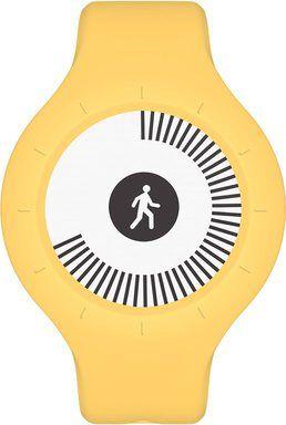 Nokia Go fitness náramek, žlutý