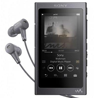 Sony NW-A45HNB 16GB černý