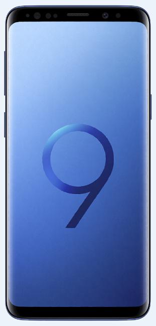 Samsung Galaxy S9+ Dual SIM 64 GB modrý