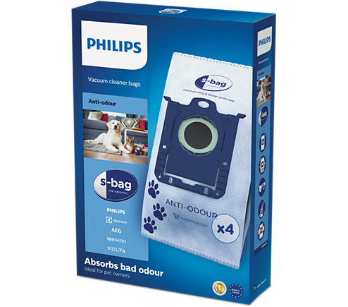 Philips FC8023/04 Anti-Odour S-Bag sáčky do vysavače (4ks)