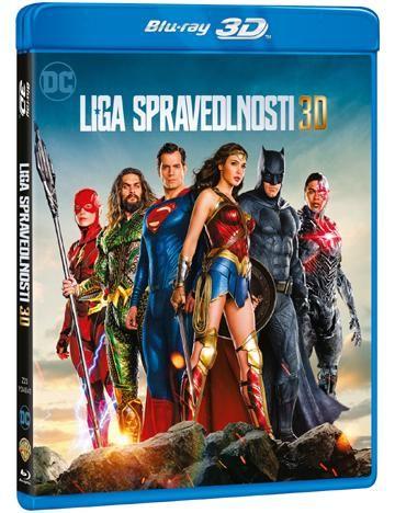 Liga spravedlnosti BD 3D+2D film