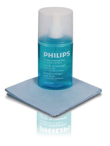 Philips SVC1116B/10 čisticí souprava LCD/PLAZMA