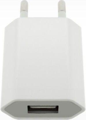 4-OK USB 230V 1A bílá, USB nabíječka