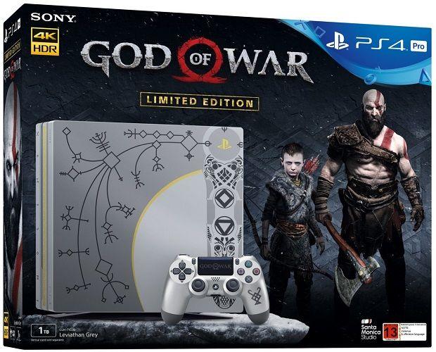 Sony PlayStation 4 Pro 1TB + God of War + dárek Tajný život mazlíčků - DVD zdarma