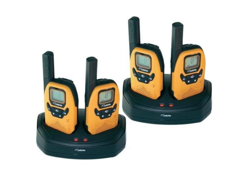 DeTeWe Outdoor 8000 Quad Case vysílačka oranžová