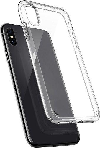 Spigen Ultra Hybrid puzdro pre Apple iPhone X, transparentní