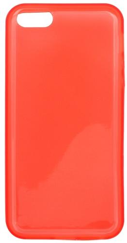 Mobilnet gumové pouzdro pro iPhone 5, červená