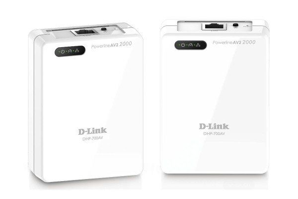D-Link DHP-701AV - 2000Mb Powerline