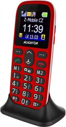 Aligator A510 Senior červený