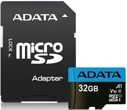 ADATA Premier microSDHC 32GB UHS-I U1 + adaptér