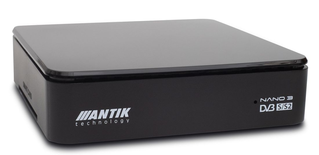 Antik Nano3S set-top box s archivem