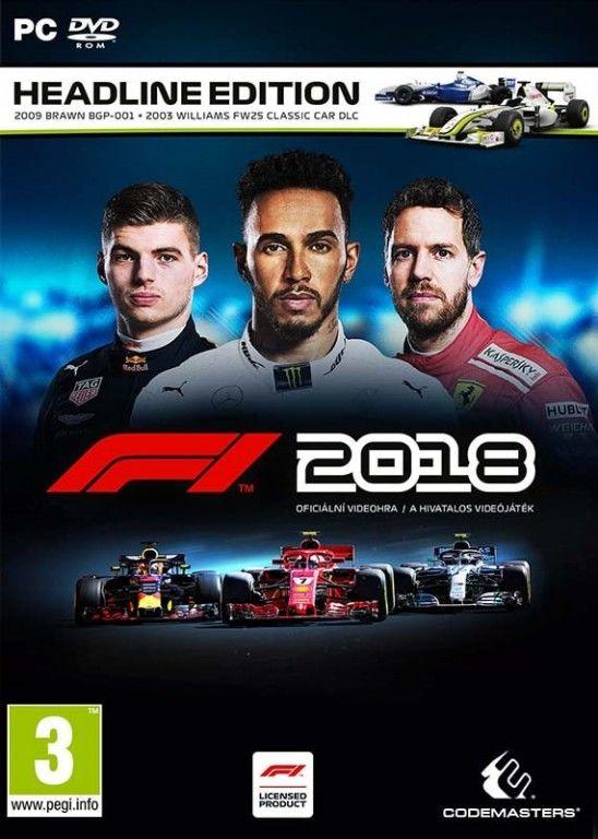 F1 2018 PC hra