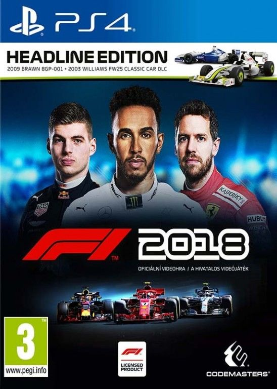 F1 2018 PS4 hra