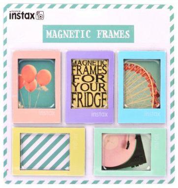 Fujifilm Instax magnetické rámečky 5ks, pastelové barvy