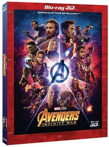 Avengers: Infinity War (3D + 2D) - 2x Blu-ray film