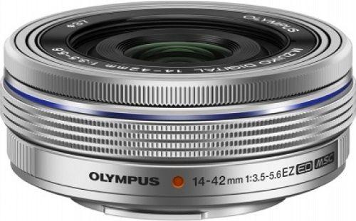 Olympus M.Zuiko Digital ED 14-42mm 3.5-5.6, stříbrný