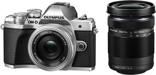 Olympus E-M10 Mark III DZ+M.Zuiko+14-42mm+40-150mm IIR černo-stříbrná