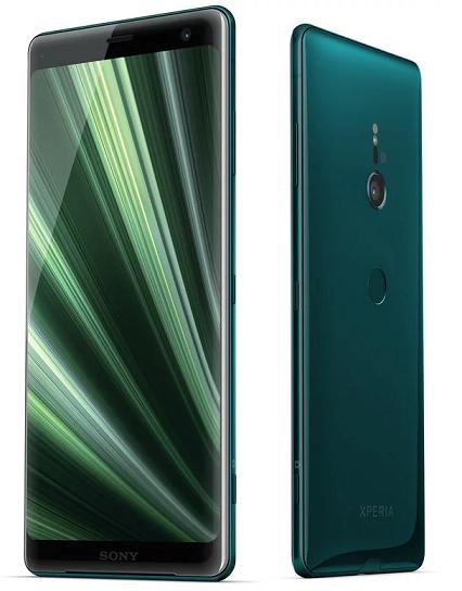 Sony Xperia XZ3 lesně zelený