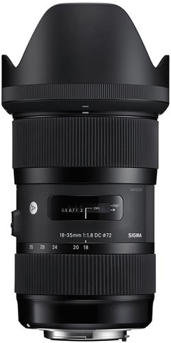 Sigma 18-35mm f/1.8 DG HSM Art Lens pro Nikon