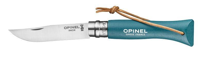 Opinel N°06 Trekking tyrkysový nůž s poutkem