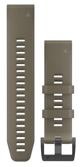 Garmin QuickFit 22 silikonový řemínek hnědý