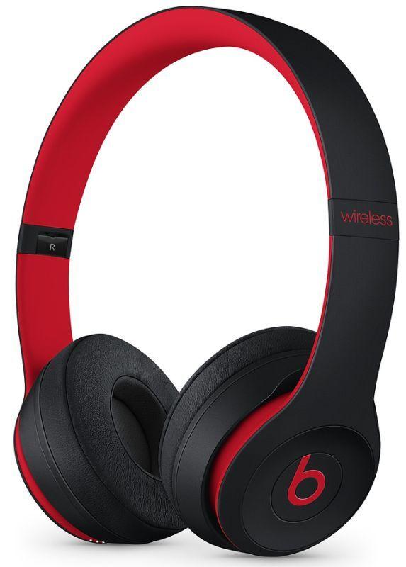 Beats Solo3 Wireless červeno-černé