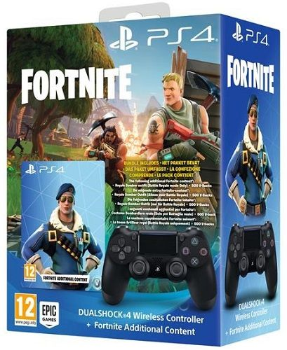 Sony PS4 Dualshock 4 v2 + voucher Fortnite