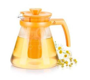 Tescoma Teo Tone žlutá konvice na čaj (1,7L)