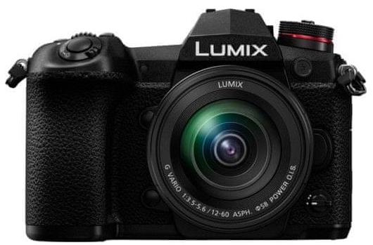 Panasonic Lumix DC-G9 černý + Lumix G Vario 12-60 mm f/3,5-5,6 ASPH. Power O.I.S.