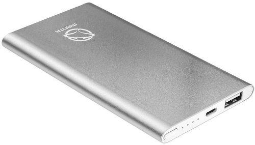 Manta Diamond 5000 powerbanka, stříbrná
