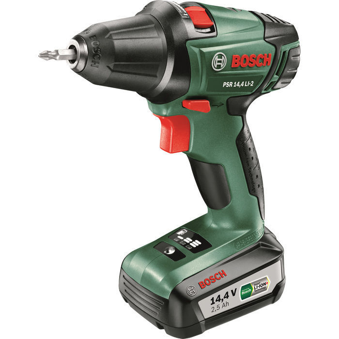 Bosch PSR 1440 Li-2 2 AKU + 241 ks Toolbox