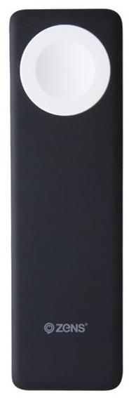 Zens powerbanka Qi 4000 mAh, černá