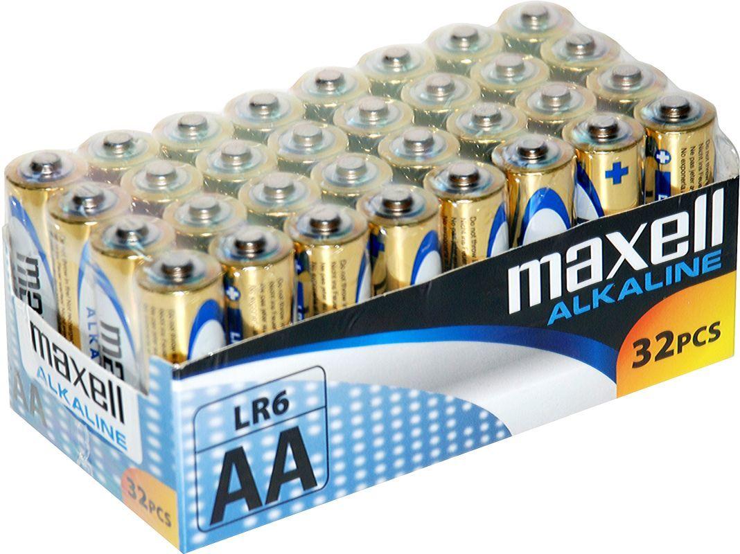MAXELL LR6 32KS AA, alkalické baterie