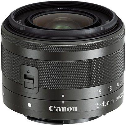 Canon EF-M 15-45 mm f/3.5-6.3 IS STM, černý
